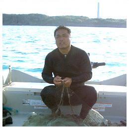 宮古島の仲間たち:宮古島の海人